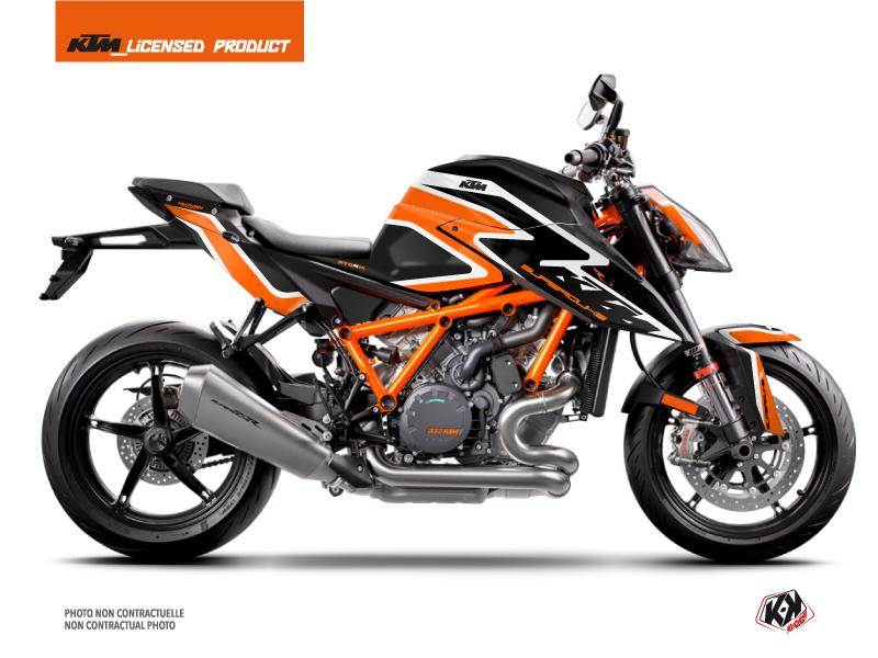 KTM Super Duke 1290 R Street Bike Storm Graphic Kit Orange Black