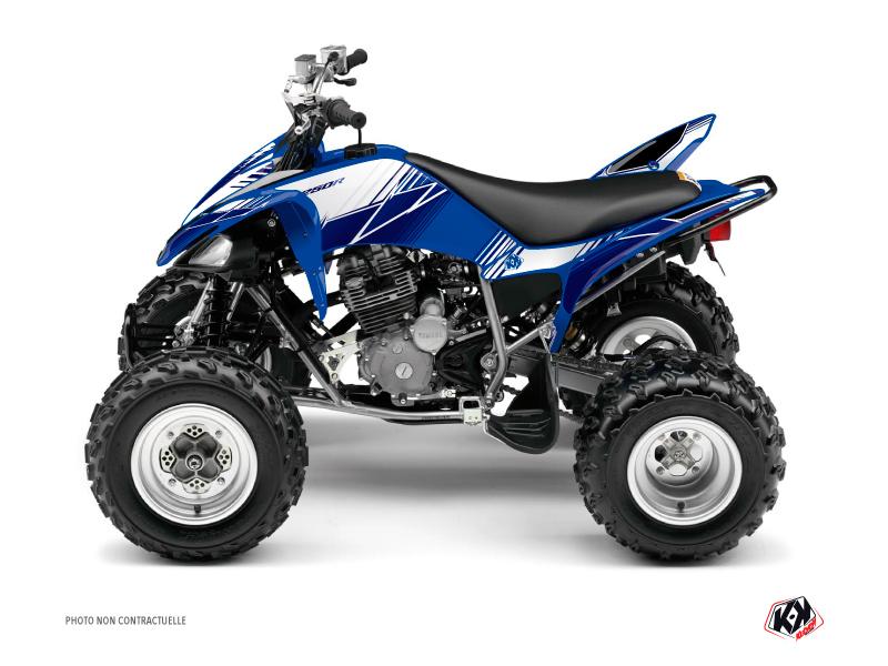Yamaha 250 Raptor ATV Stripe Graphic Kit Night Blue