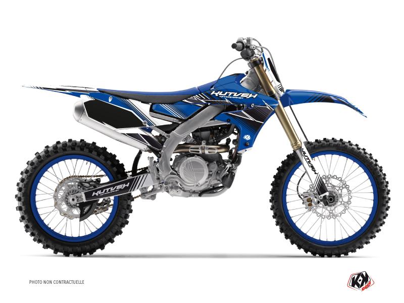 Kit Déco Moto Cross Stripe Yamaha 250 YZF Bleu