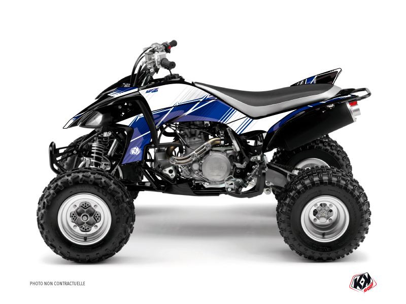 Kit Déco Quad Stripe Yamaha 450 YFZ Bleu Nuit