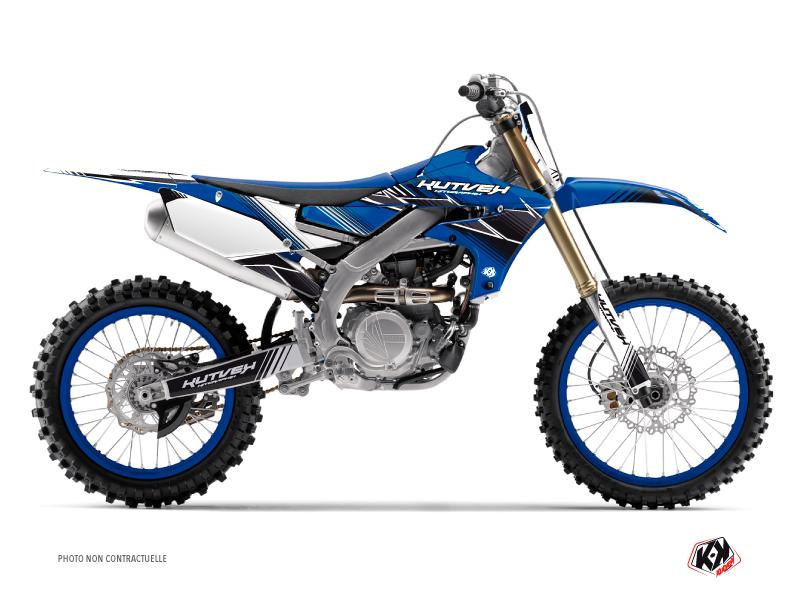 Yamaha 450 YZF Dirt Bike Stripe Graphic Kit Blue