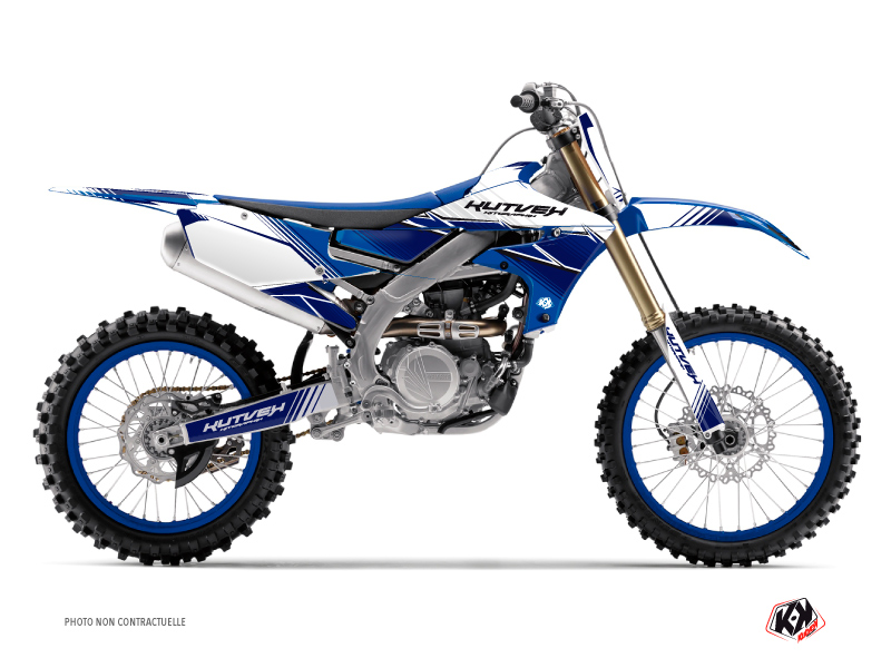 Yamaha 450 YZF Dirt Bike Stripe Graphic Kit Night Blue