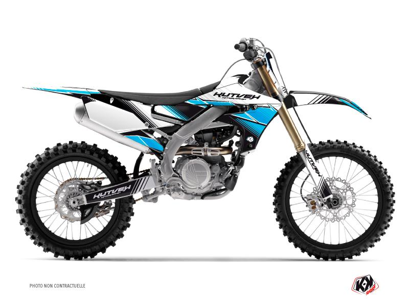 Yamaha 450 YZF Dirt Bike Stripe Graphic Kit Black