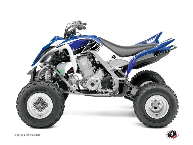 Yamaha 660 Raptor ATV Stripe Graphic Kit Blue