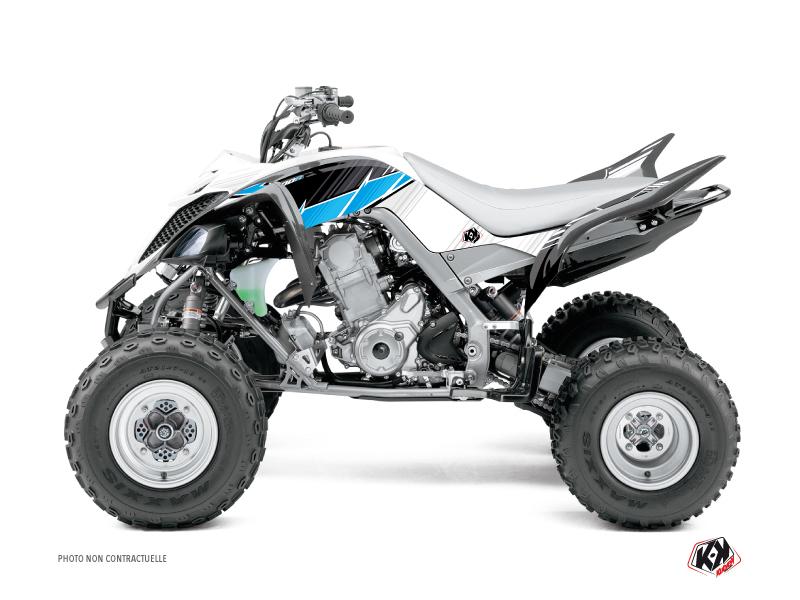 Yamaha 700 Raptor ATV Stripe Graphic Kit Black