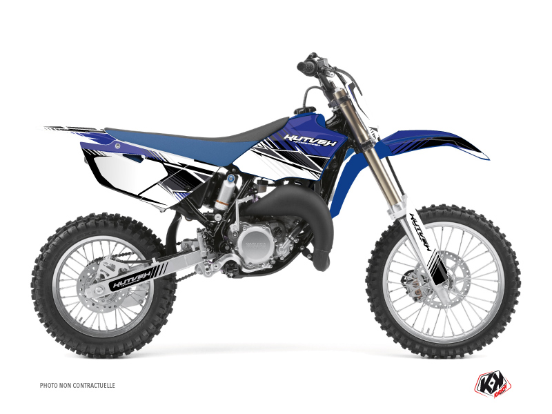 Yamaha 85 YZ Dirt Bike Stripe Graphic Kit Blue