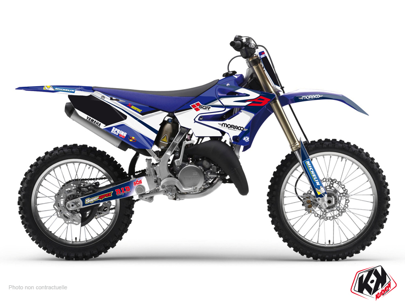 Yamaha 125 YZ Dirt Bike Replica Team 2b Graphic Kit 2015