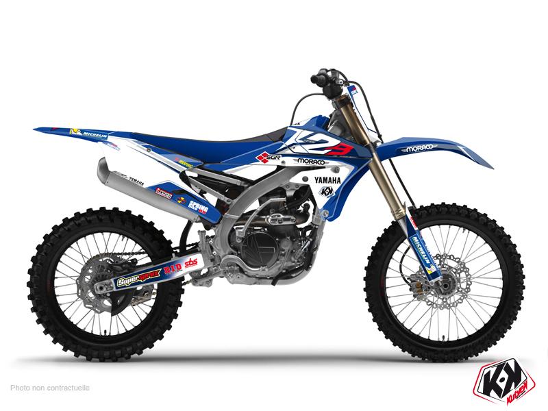 Yamaha 250 YZF Dirt Bike Replica Team 2b Graphic Kit 2015