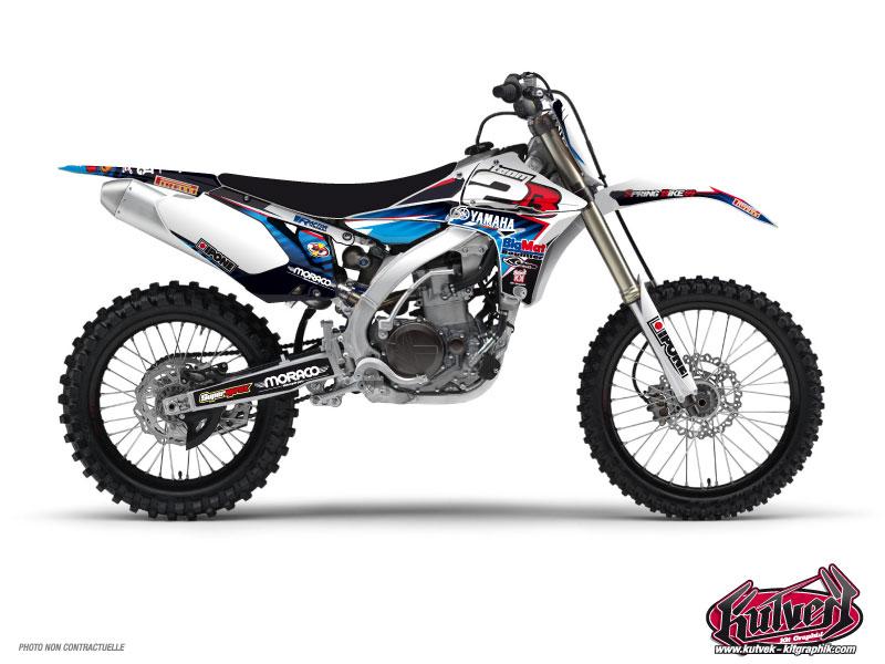 Kit Déco Moto Cross Replica Team 2b Yamaha 450 YZF 2012