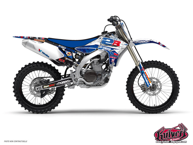 Yamaha 450 YZF Dirt Bike Replica Team 2b Graphic Kit 2013