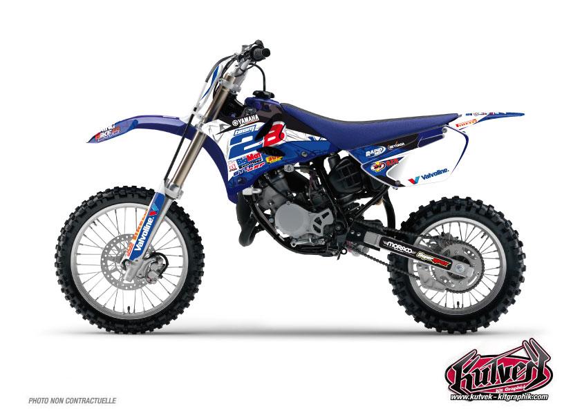 Yamaha 85 YZ Dirt Bike Replica Team 2b Graphic Kit 2013