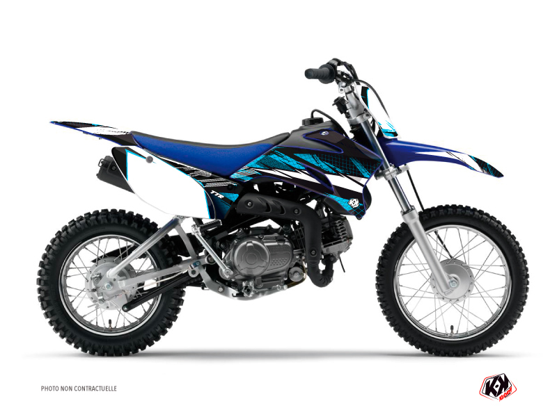 Yamaha TTR 110 Dirt Bike Techno Graphic Kit Blue