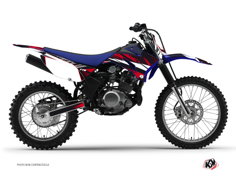 Yamaha TTR 125 Dirt Bike Techno Graphic Kit Red