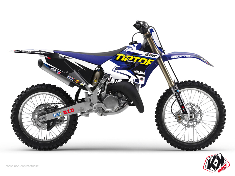 Yamaha 250 YZ Dirt Bike Replica Team Tip Top Graphic Kit 2015