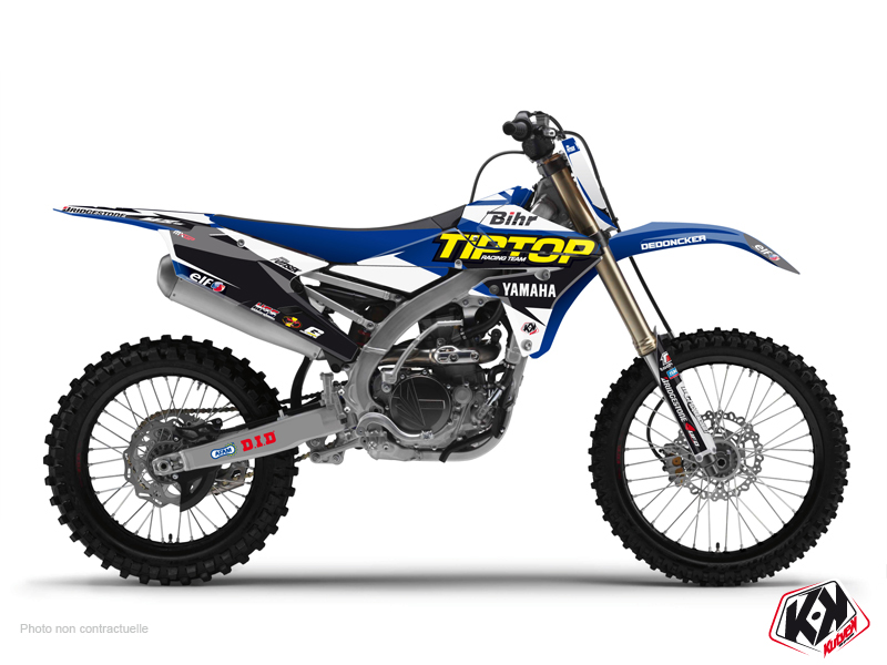 Yamaha 450 YZF Dirt Bike Replica Team Tip Top Graphic Kit 2015