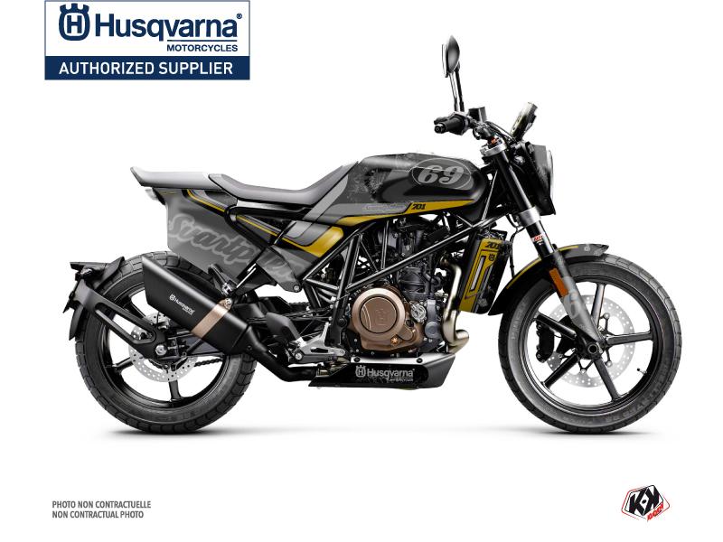 Kit Déco Moto Track Husqvarna Svartpilen 701 Noir