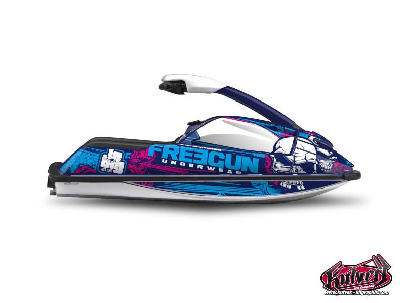 Yamaha Superjet Jet-Ski Trash Freegun Graphic Kit