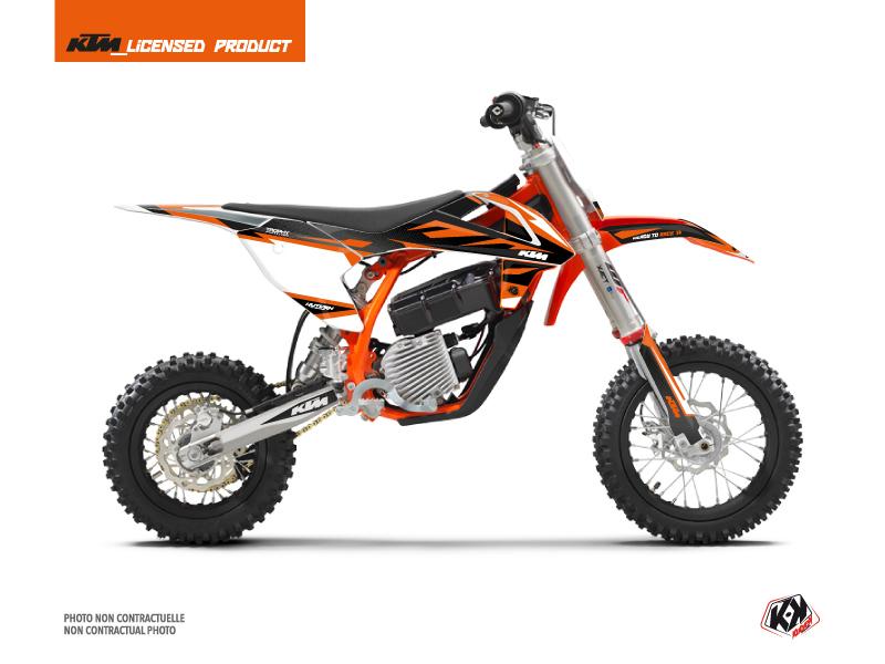 Kit Déco Moto Cross Trophy KTM SX-E 5 Noir Orange