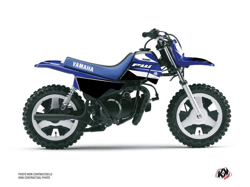 Yamaha PW 50 Dirt Bike US STYLE Graphic Kit Blue