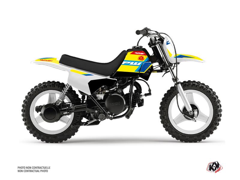 Yamaha PW 50 Dirt Bike US STYLE Graphic Kit Yellow