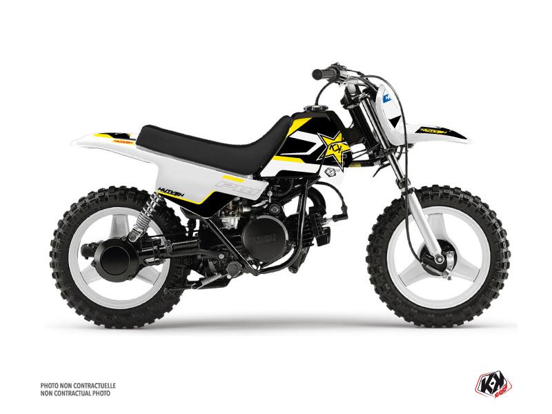 Yamaha PW 50 Dirt Bike US STYLE Graphic Kit Black