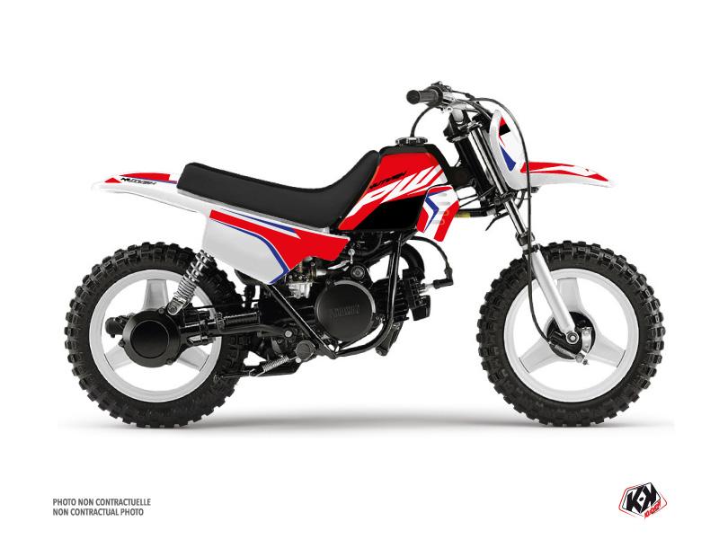 Yamaha PW 50 Dirt Bike US STYLE Graphic Kit Red
