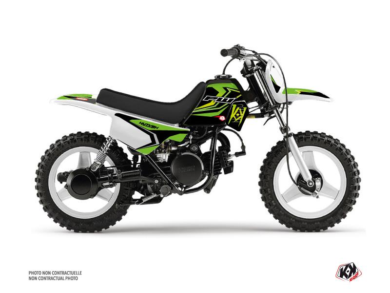 Yamaha PW 50 Dirt Bike US STYLE Graphic Kit Green