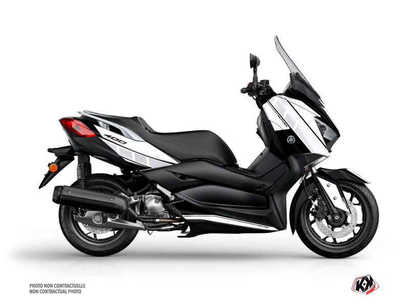 Yamaha XMAX 400 Maxiscooter Vintage Graphic White
