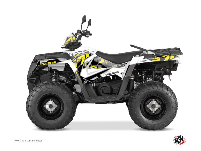 Polaris 570 Sportsman Touring ATV Visor Graphic Kit Yellow