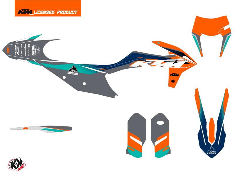 KTM EXC-EXCF Dirt Bike Wess K21 Graphic Kit