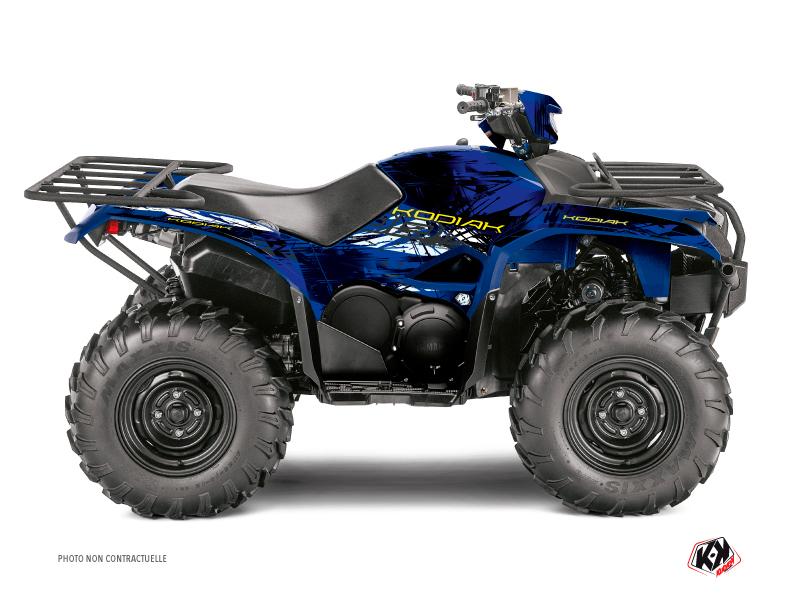 Kit Déco Quad Wild Yamaha 700-708 Kodiak Bleu