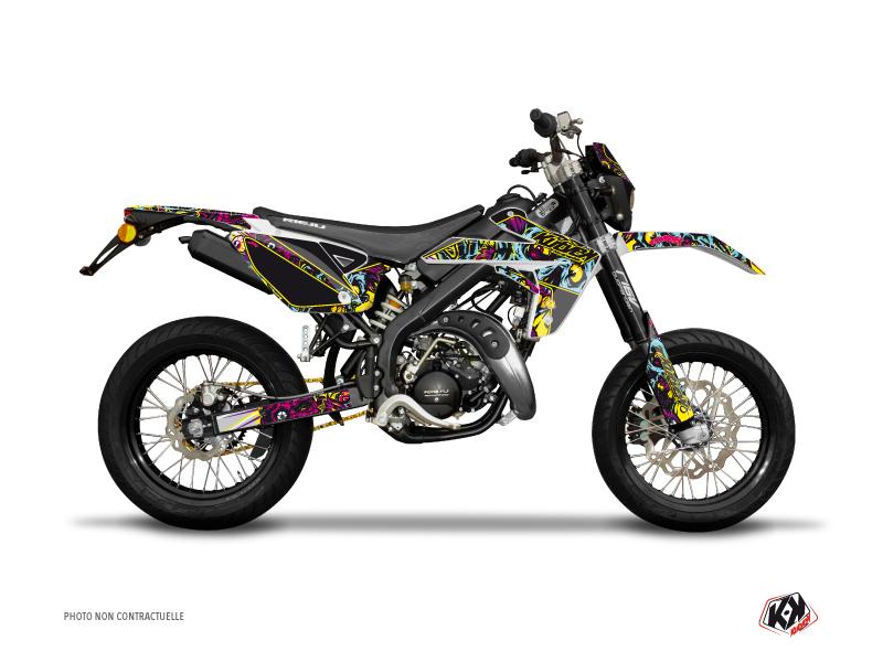 Rieju MRT 50 50cc Zombies Colors Graphic Kit