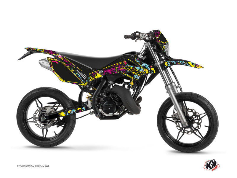 Beta RR 50 Motard 50cc Zombies Colors Graphic Kit