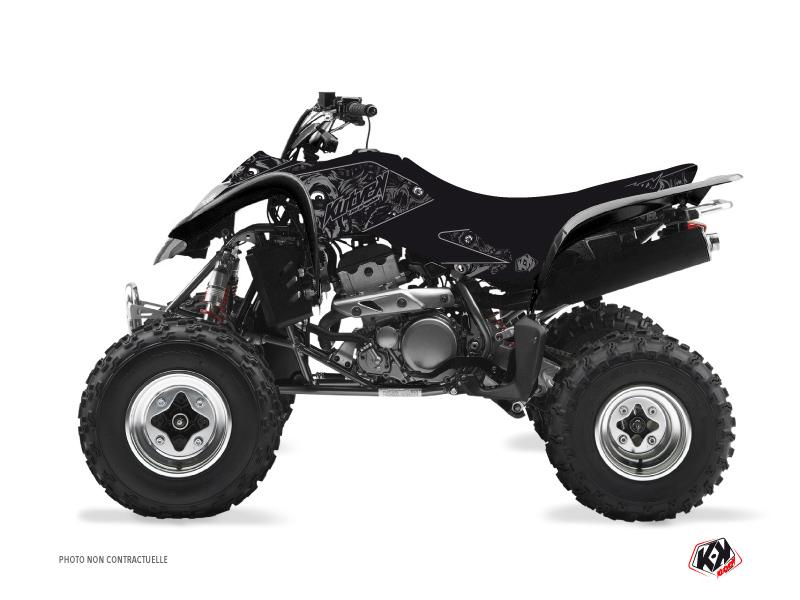 Suzuki 250 LTZ ATV Zombies Dark Graphic Kit Black