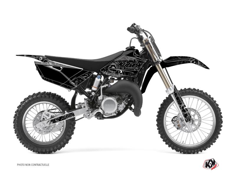 Yamaha 85 YZ Dirt Bike Zombies Dark Graphic Kit Black