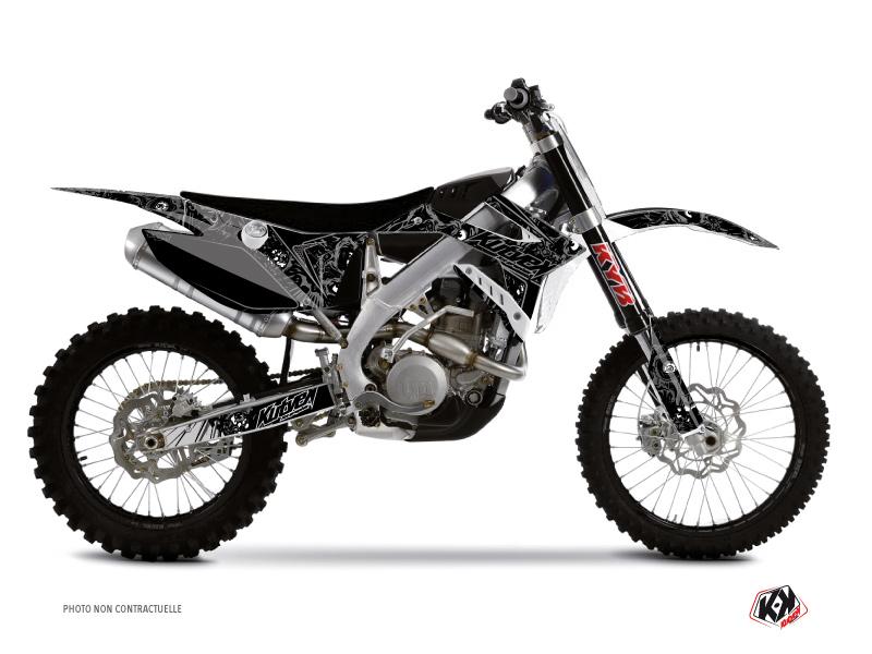 TM MX 125 Dirt Bike Zombies Dark Graphic Kit Black