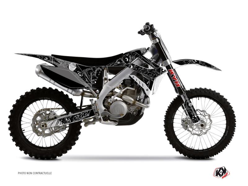 TM MX 250 FI Dirt Bike Zombies Dark Graphic Kit Black