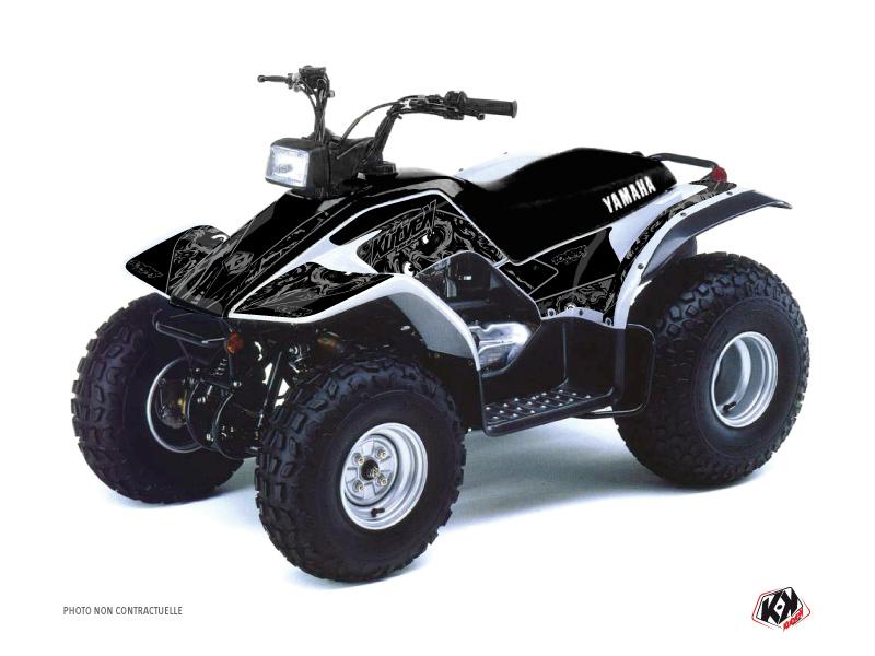 Yamaha Breeze ATV Zombies Dark Graphic Kit Black