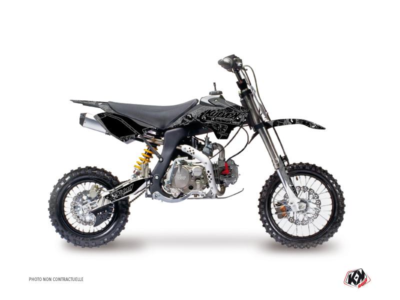 Kit Déco Moto Cross Zombies Dark YCF F150 Noir