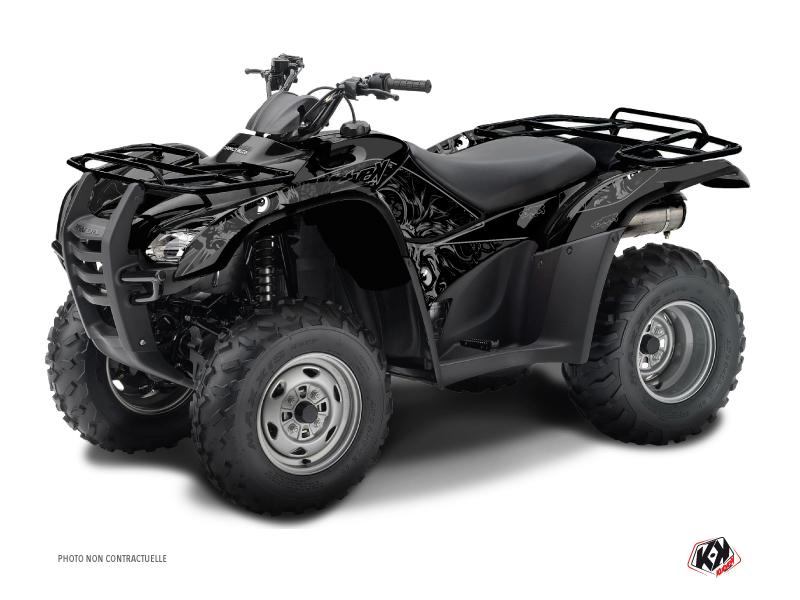 Kit Déco Quad Zombies Dark Honda Rancher 420 Noir