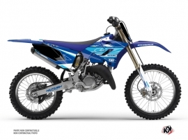 Kit Déco Moto Cross Outline Yamaha 125 YZ Bleu