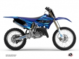 Kit Déco Moto Cross Outline Yamaha 125 YZ Cyan