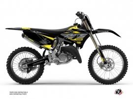 Yamaha 250 YZ Dirt Bike Outline Graphic Kit Yellow