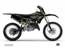 Yamaha 250 YZ Dirt Bike Outline Graphic Kit Kaki