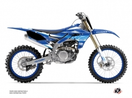 Kit Déco Moto Cross Outline Yamaha 250 YZF Bleu