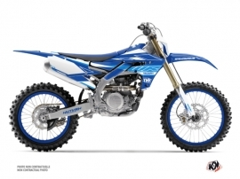 Yamaha 250 WRF Dirt Bike Outline Graphic Kit Blue