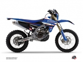 Yamaha 250 WRF Dirt Bike Replica Outsiders Academy Graphic Kit 2018