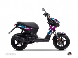 Yamaha Slider Scooter Painting Graphic Kit Purple
