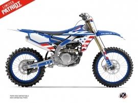 Yamaha 450 YZF Dirt Bike Patriot Graphic Kit Blue