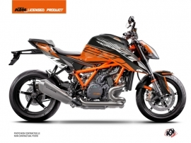 KTM Super Duke 1290 R Street Bike Perform Graphic Kit Orange Black